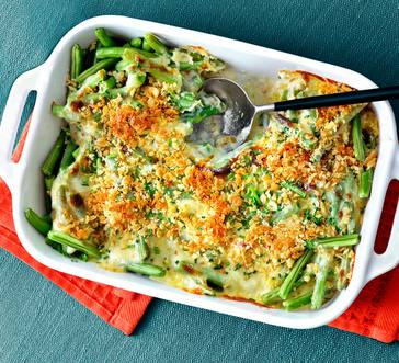 Green Beans with Gruyère Bechamel image