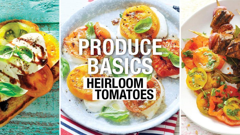 Produce Basics - Heirloom Tomatoes image