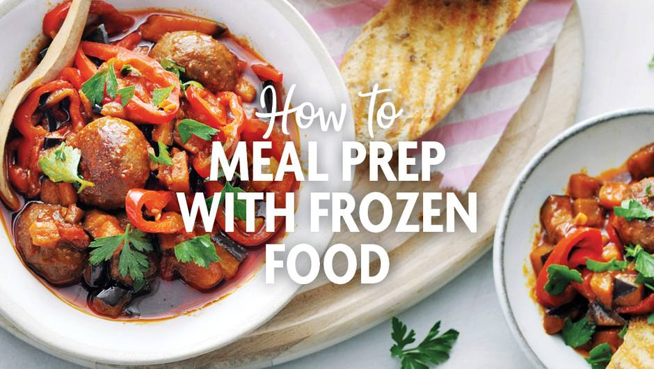 How to Meal Prep with Frozen Foods image