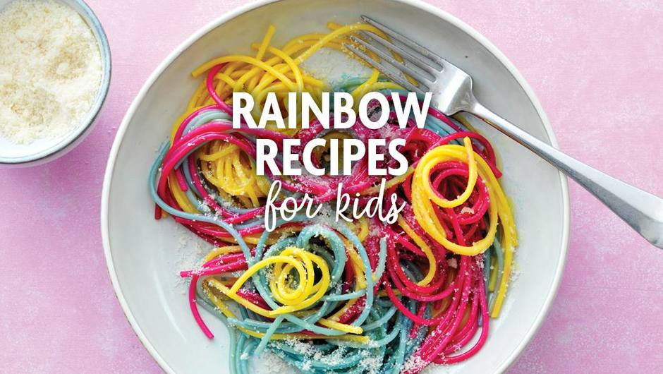 Rainbow Recipes for Kids image
