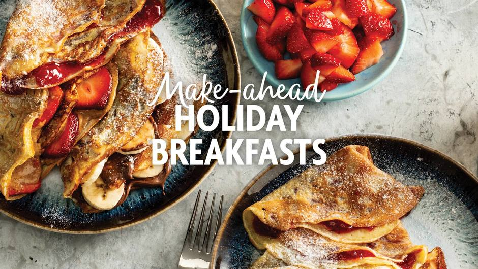 Make-Ahead Holiday Breakfasts image