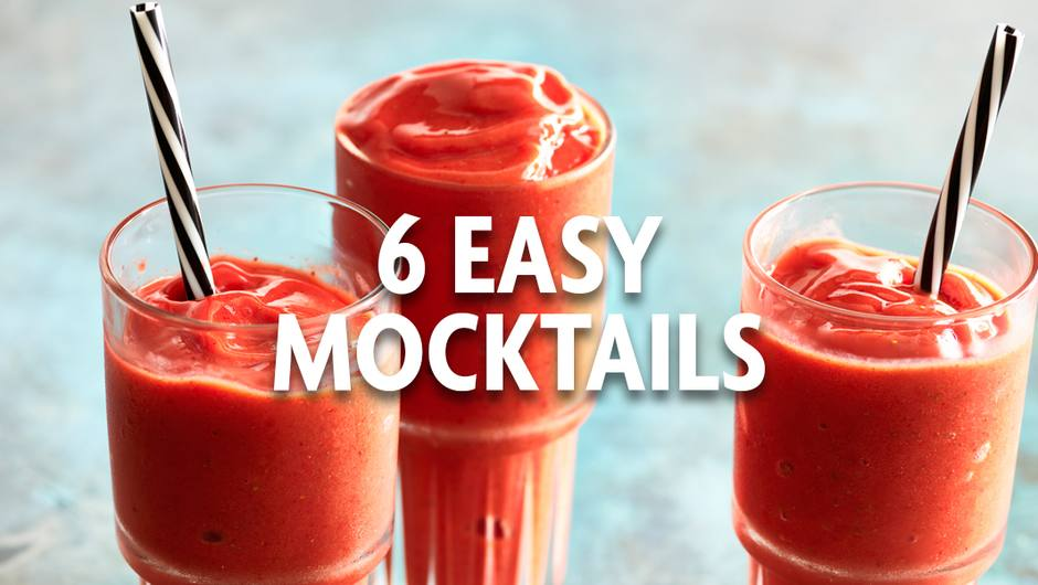 6 Easy Mocktails image