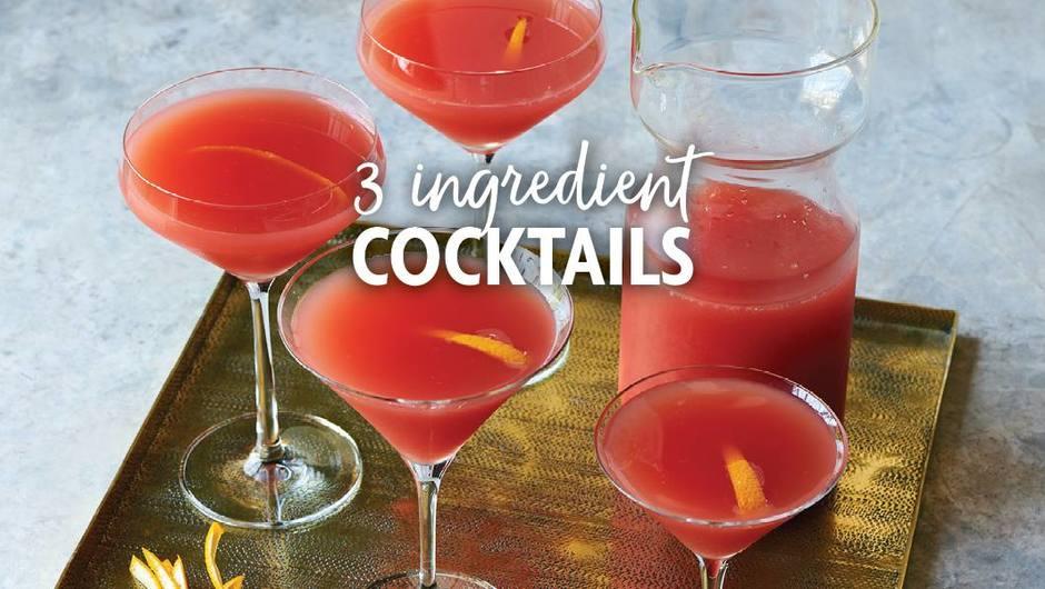 3-Ingredient Cocktails image
