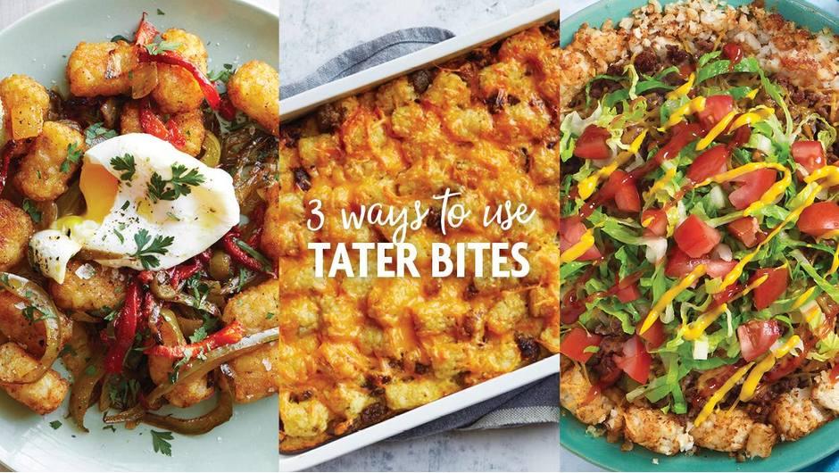 3 Ways to Use Tater Bites image