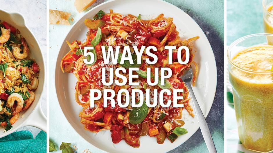 5 Easy Ways to Use Up Produce image