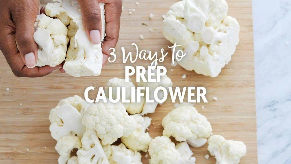 3 Ways to Prep Cauliflower image