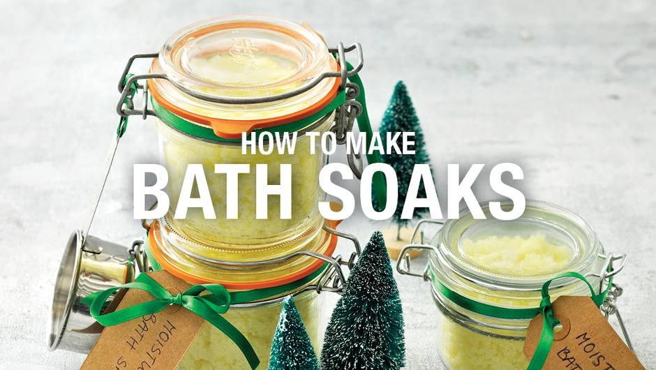 How to Make Bath Soaks image