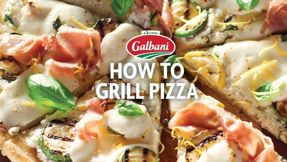 How to Grill Pizza Presented by Galbani ® image