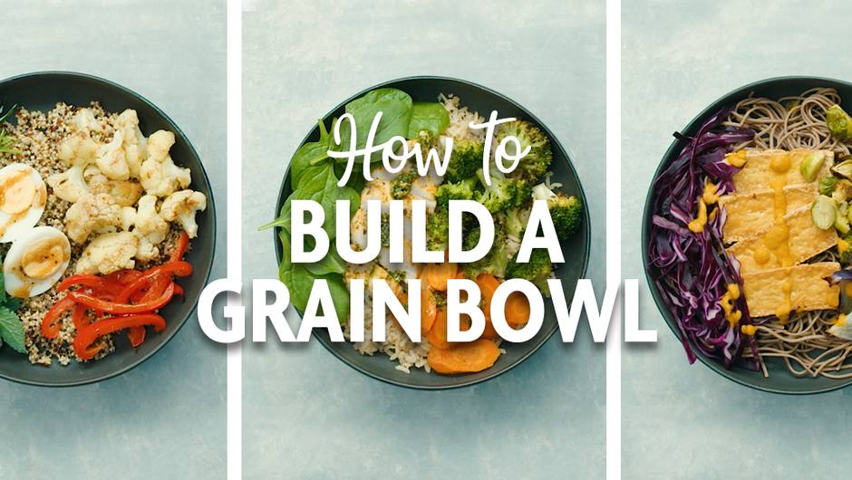 How to Build a Grain Bowl image