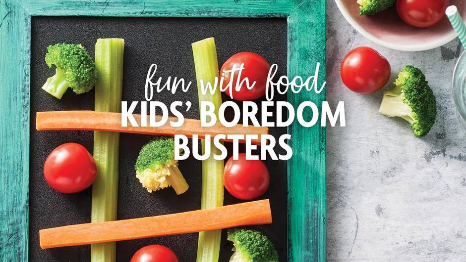 Fun with Food | Kids' Boredom Busters image