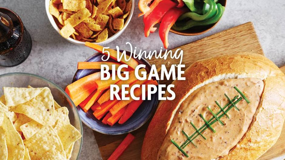 5 Winning Big Game Recipes image