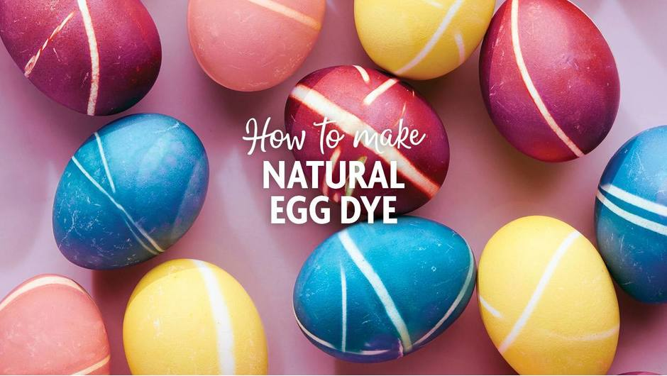 How to Naturally Dye Eggs image