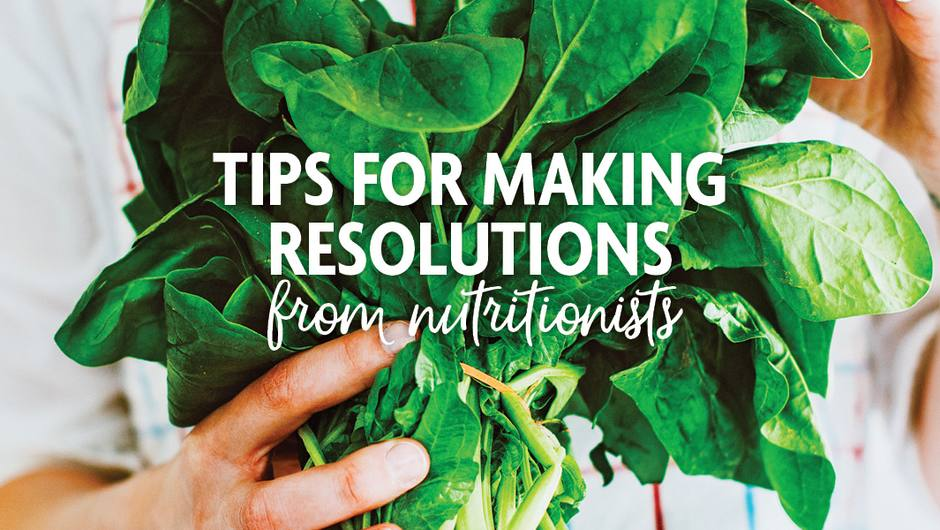 Tips for Making Resolutions from Nutritionists image