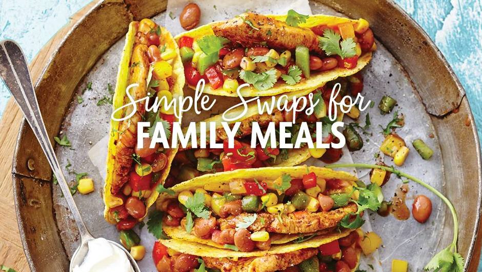 21 Simple swaps for your favorite family meals image
