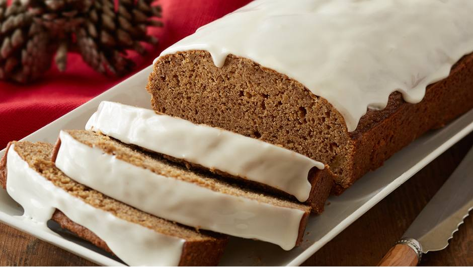 Gingerbread With Vanilla Glaze Giant Food Store