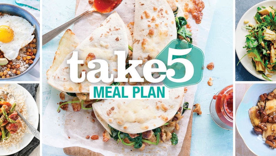 Take 5 Meals - Think Spring! image