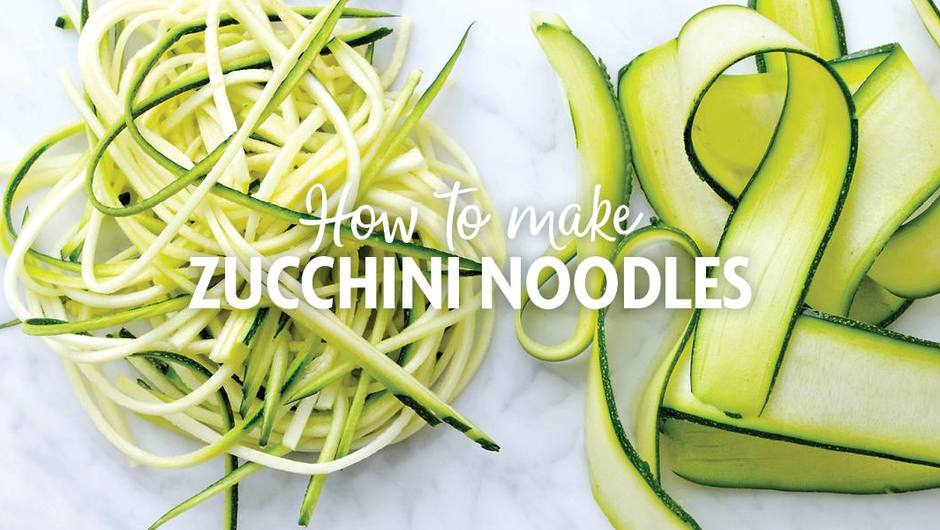 3 Ways to Make Zucchini Noodles image