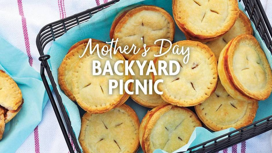 Mother's Day Backyard Picnic image