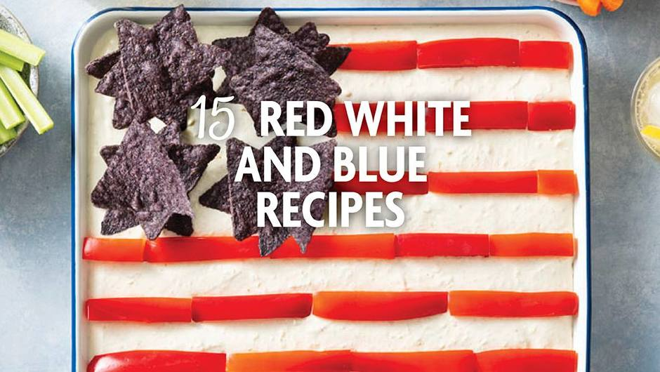 15 Red, White and Blue Recipes to Light Up Your 4th of July image