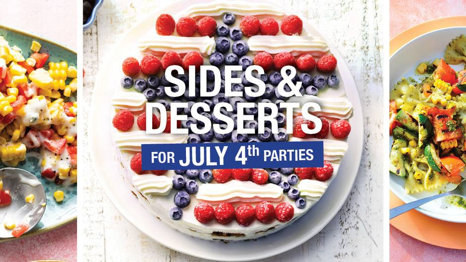 Sides & Desserts for July 4th image