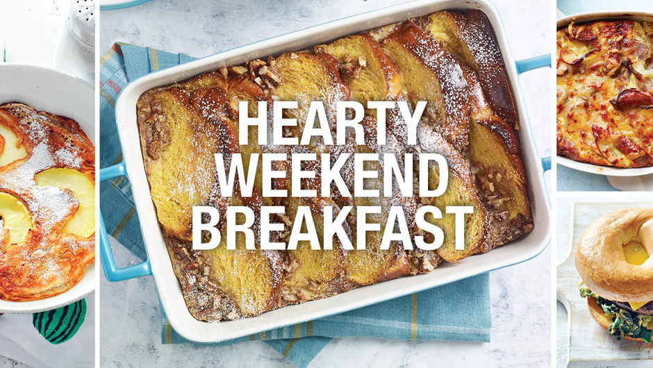 6 Hearty Breakfasts Worthy of the Weekend image