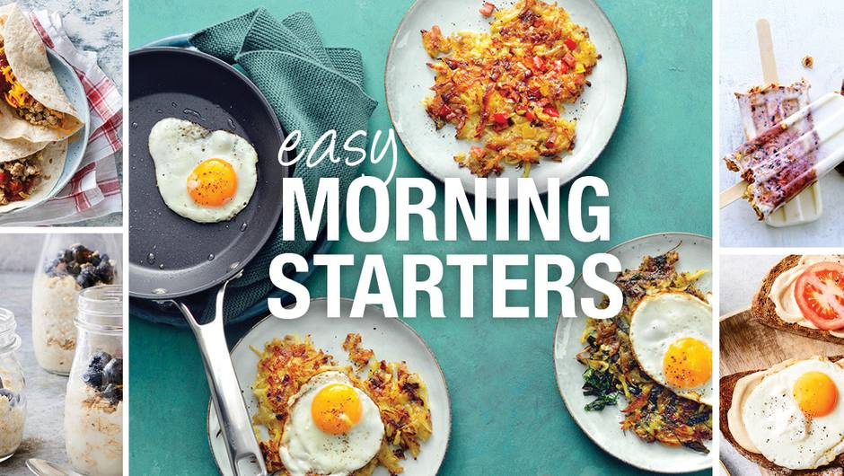 Start Your Day Off Right with These 5 Quick Breakfasts image
