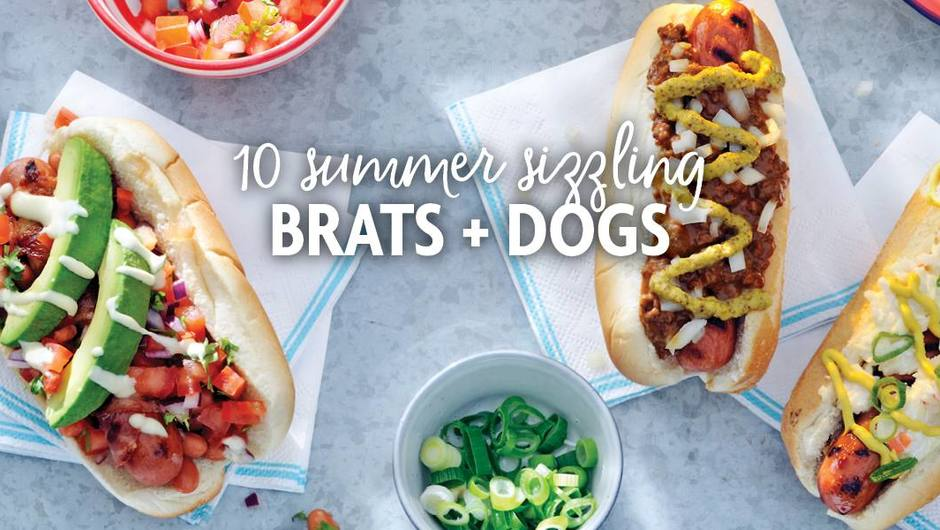 10 Summer Sizzling Brats and Dogs image
