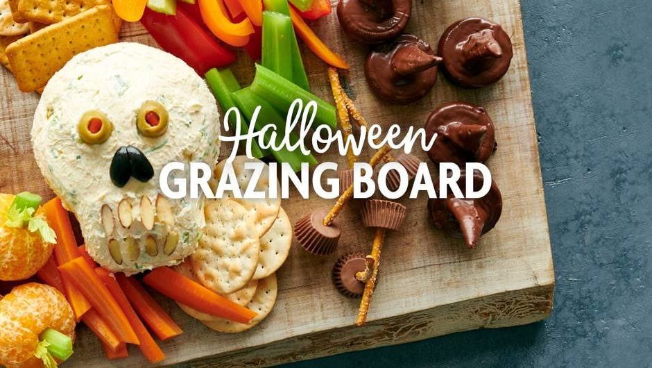 How to Build a Halloween Grazing Board image