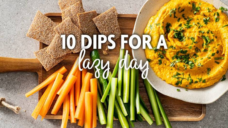 10 Dips for a Lazy Day image