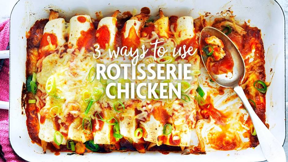 3 Ways to Use Rotisserie Chicken image
