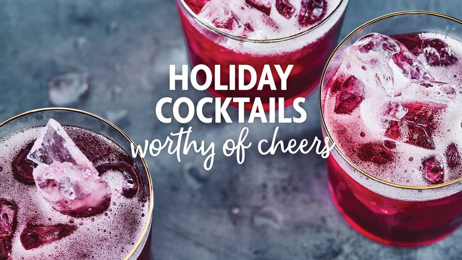 Holiday Cocktails Worthy of Cheers image