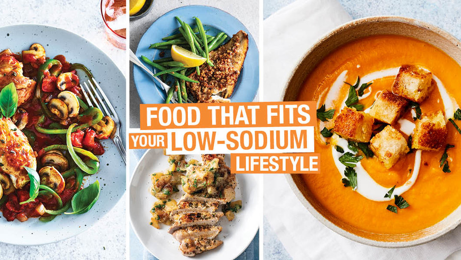Food that Fits—Your Low-Sodium Lifestyle image