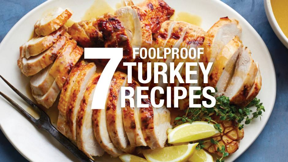 7 Foolproof Thanksgiving Turkey Recipes image
