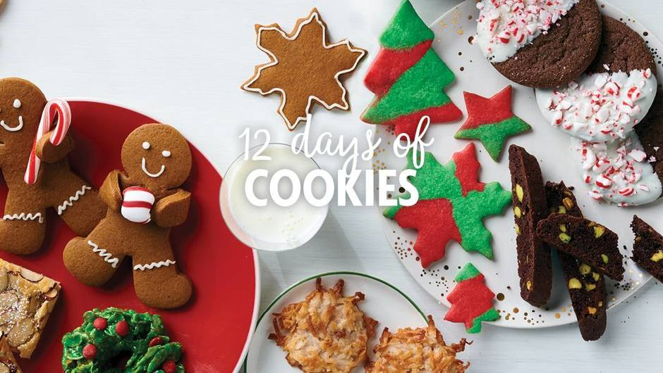 12 Days of Holiday Cookies image