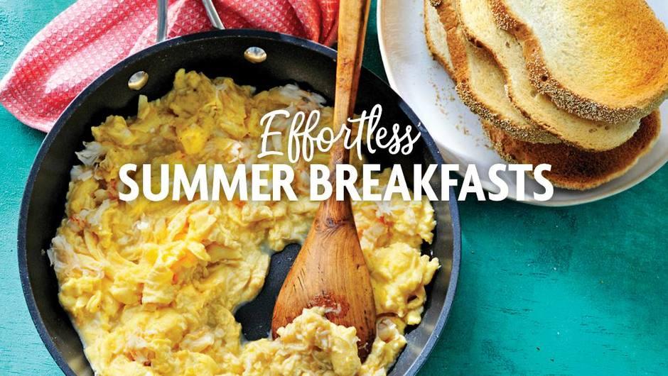 Effortless Summer Breakfasts image
