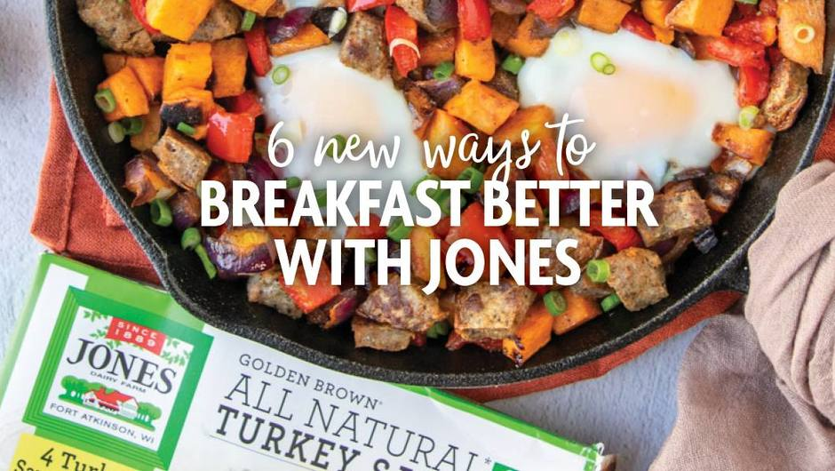 6 New and Unexpected Ways to Breakfast Better with Jones image