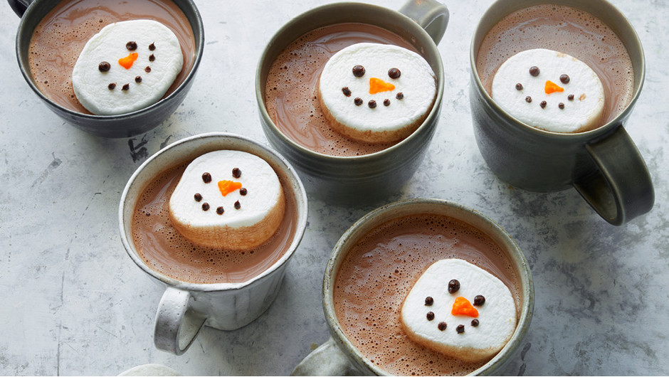Hot Chocolate with Marshmallow Floaters image