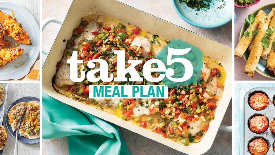 Take 5 Meals - Add that Flavor! image
