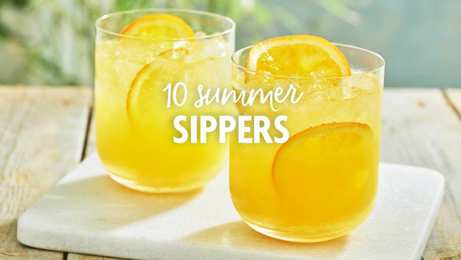 10 Summer Sippers and Cocktails image