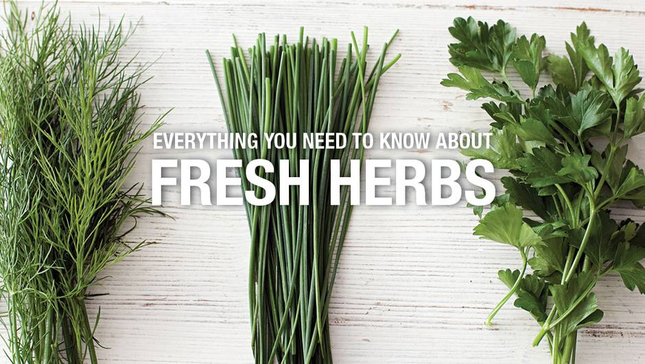 Everything You Need to Know About Fresh Herbs image