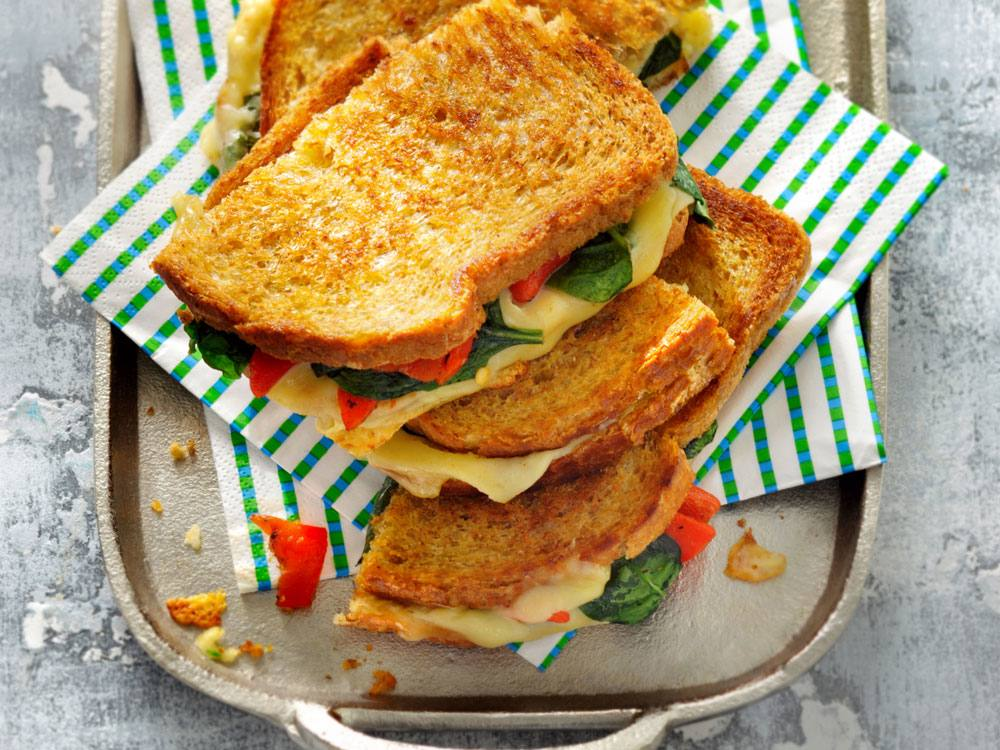 More cheese please! This sophisticated take on a grilled cheese is an easy way to enjoy comfort food on a weekday.