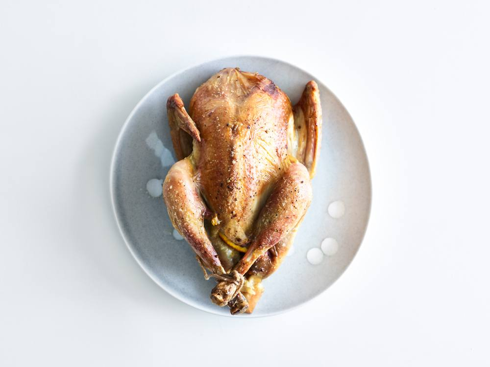 Roasted Whole Chickens