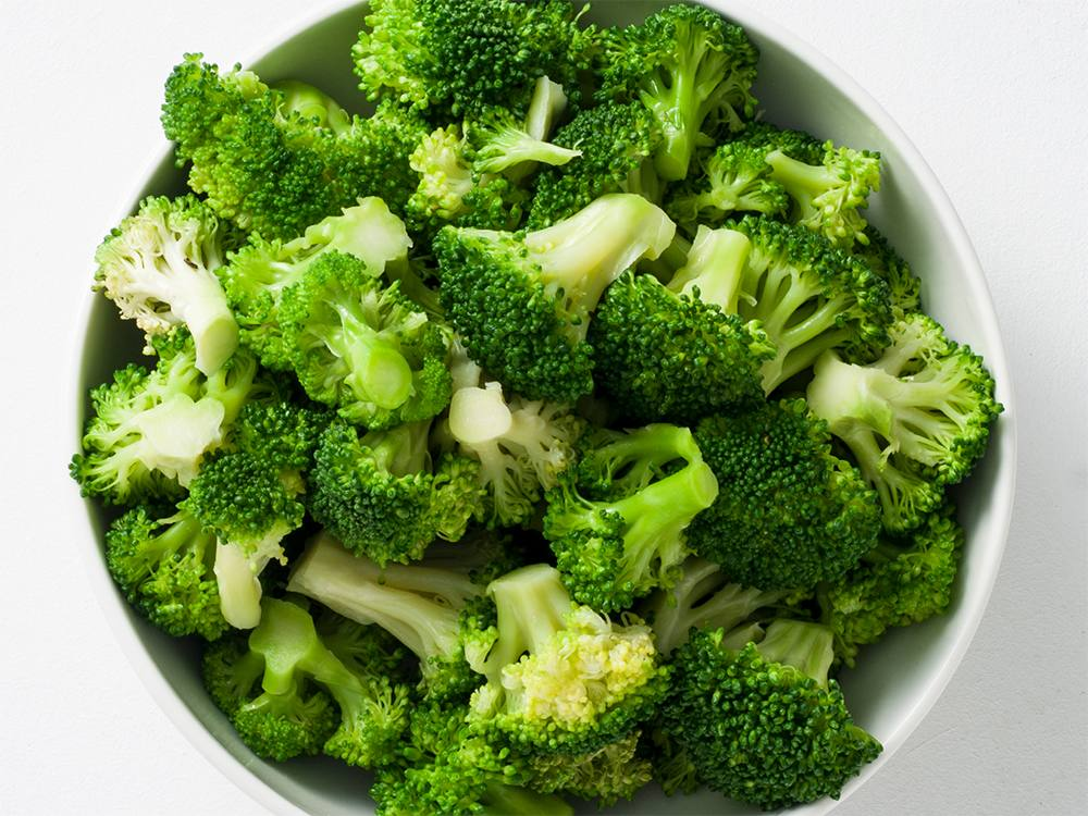 Blanched Broccoli Florets