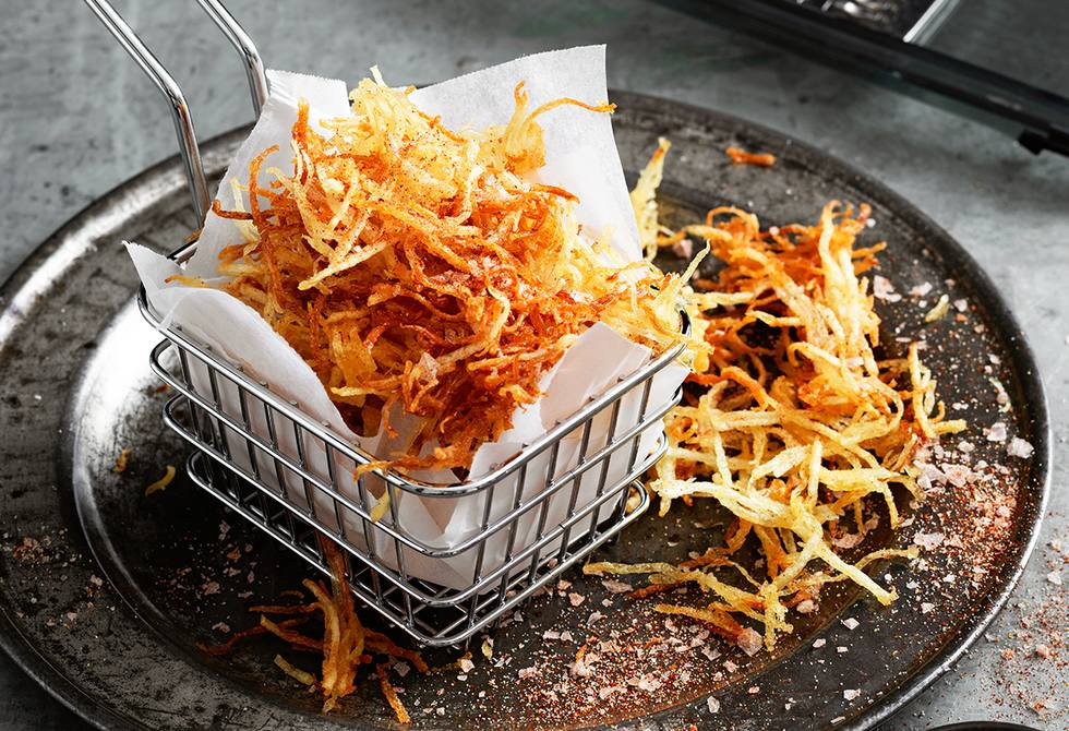 Potato straw fries