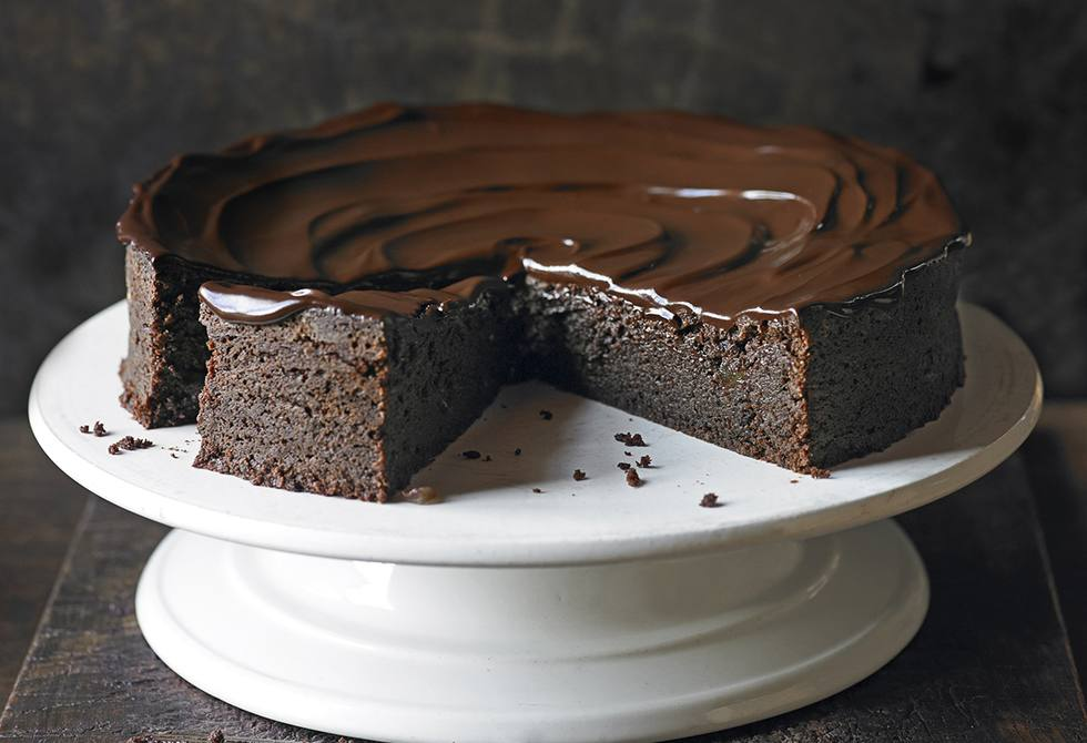 Chocolate & ginger torte