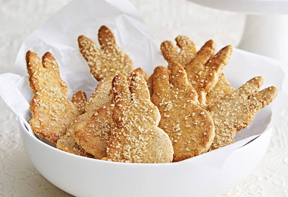 Cinnamon spiced bunny biscuits