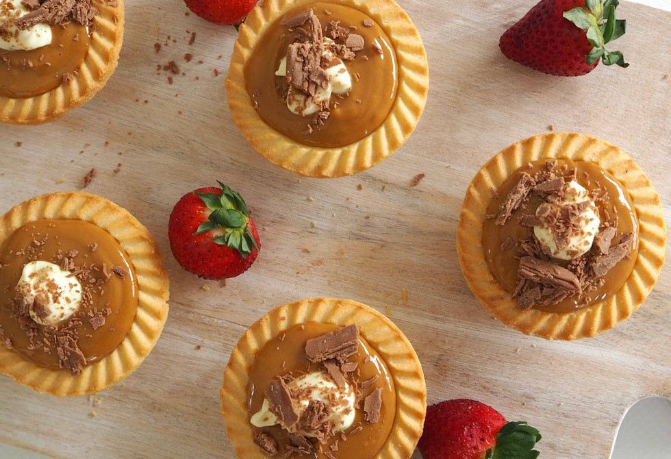 Create Bake Make's no-bake banoffee tarts