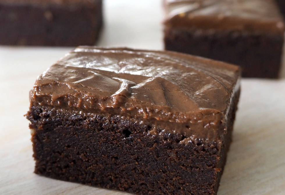 Kahlua chocolate brownies