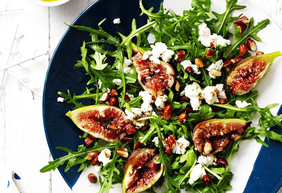 Fig Rocket And Goat S Cheese Salad