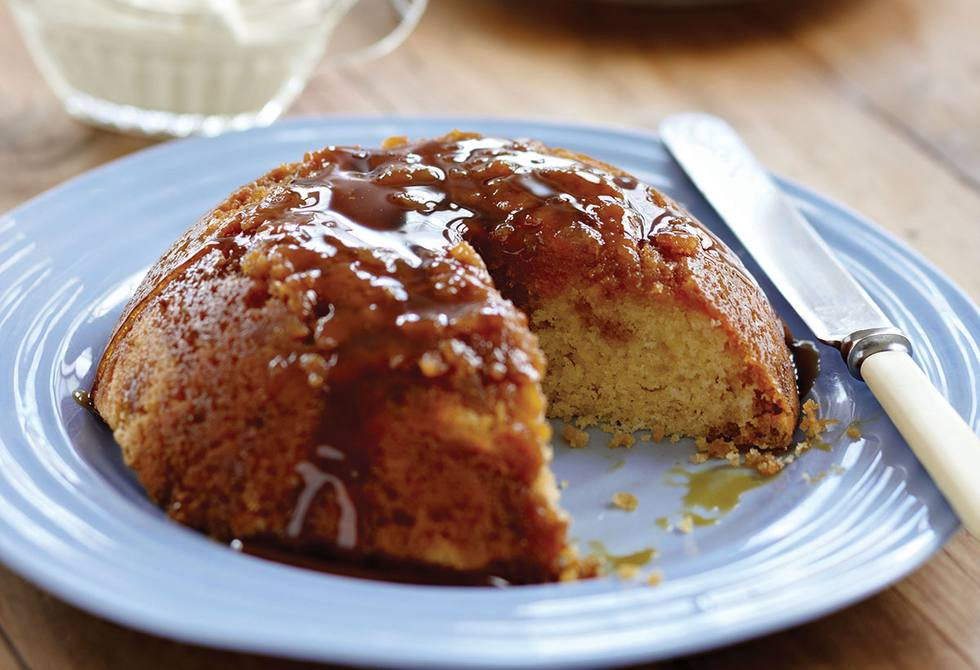 Ginger steamed pudding recipe foodiful for Treacle sponge pudding oven
